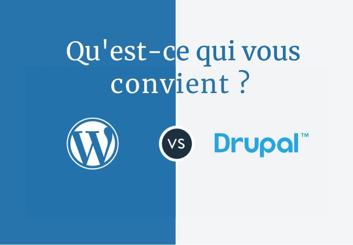 drupal wordpress