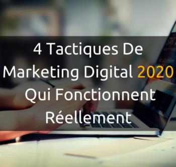 Développez votre entreprise à l'aide de simples tactiques de marketing digital
